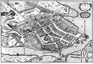 Old Map of Galway