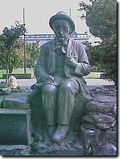 O And F Galway in the heart of Galway, at Eyre Square, there is a statue of Padraic O ...